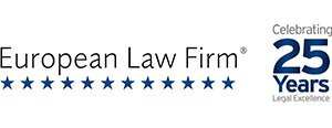European Law Firm - Celebrating 25 Years of Legal Excellence!