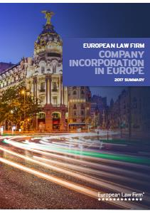 2017 Company Incorporation Guide